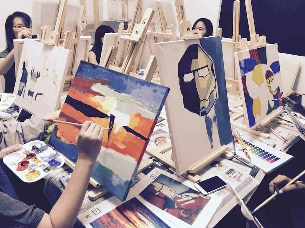 Discover Yourself With Art Jamming Singapore Sessions